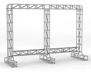large frame for six sigma display boards
