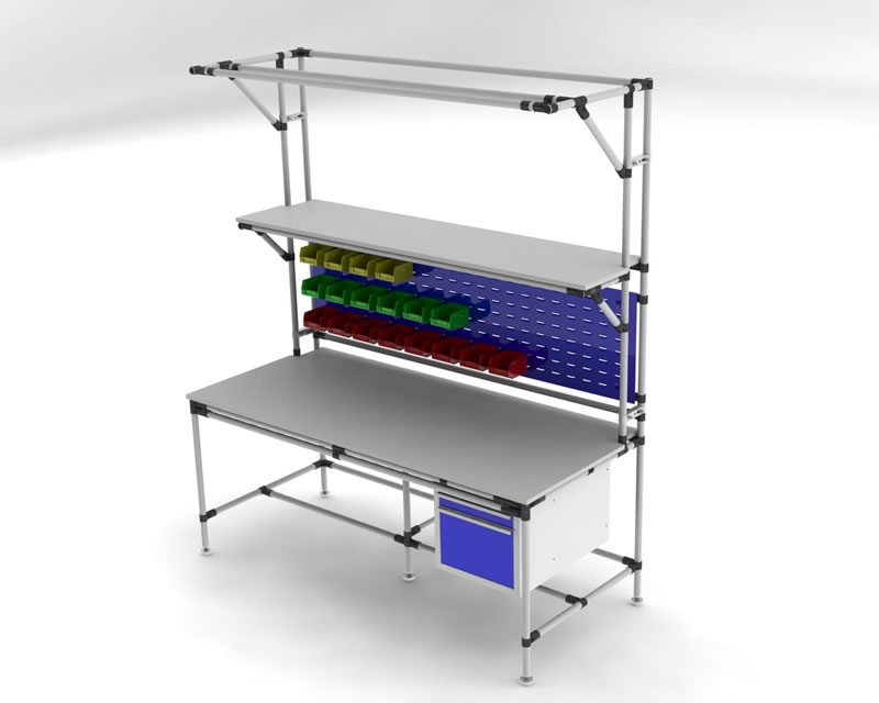 Workstations Flowtube Work Benches Ergonomic Lean