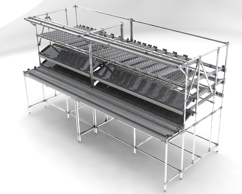 Assembly Line Workstations : Lean workstations flowtube work benches assembly