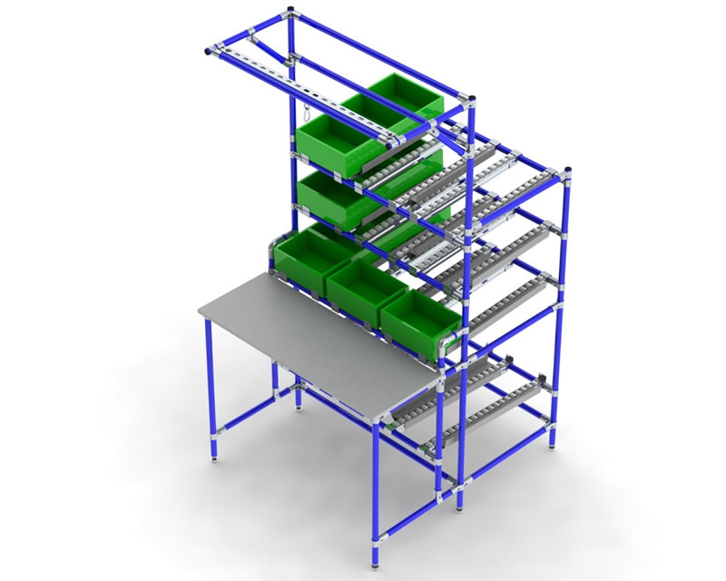 Lean Workstations Flowtube Work Benches Amp Assembly
